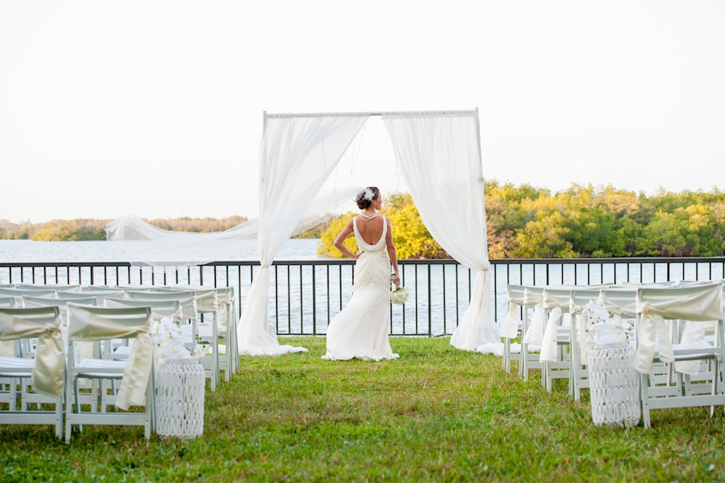 Waterfront Tampa Wedding Ceremony