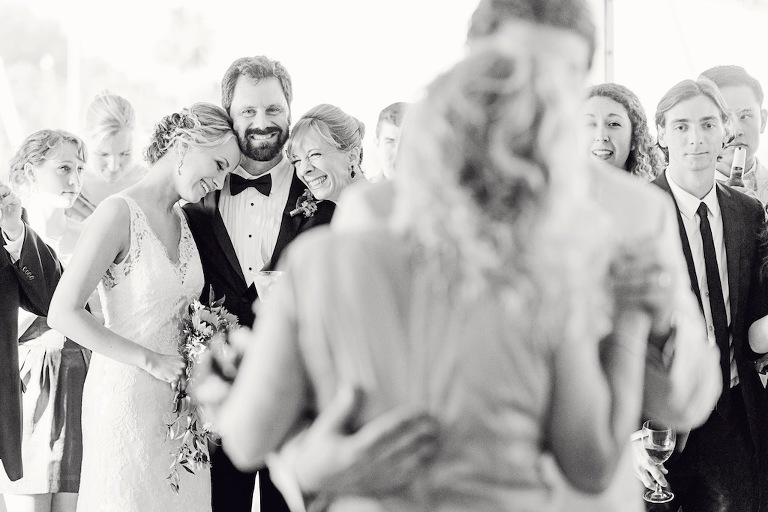 Father Reaction to First Dance on Wedding Day