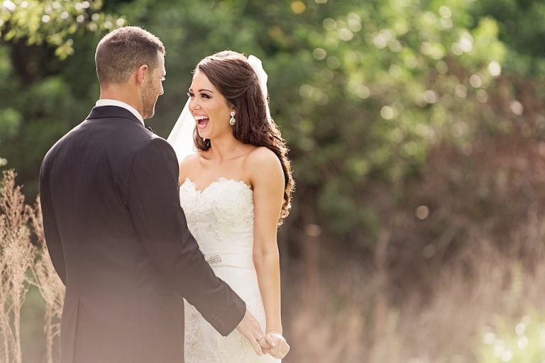Bride and Groom on Wedding Day - Marc Edwards Photographs