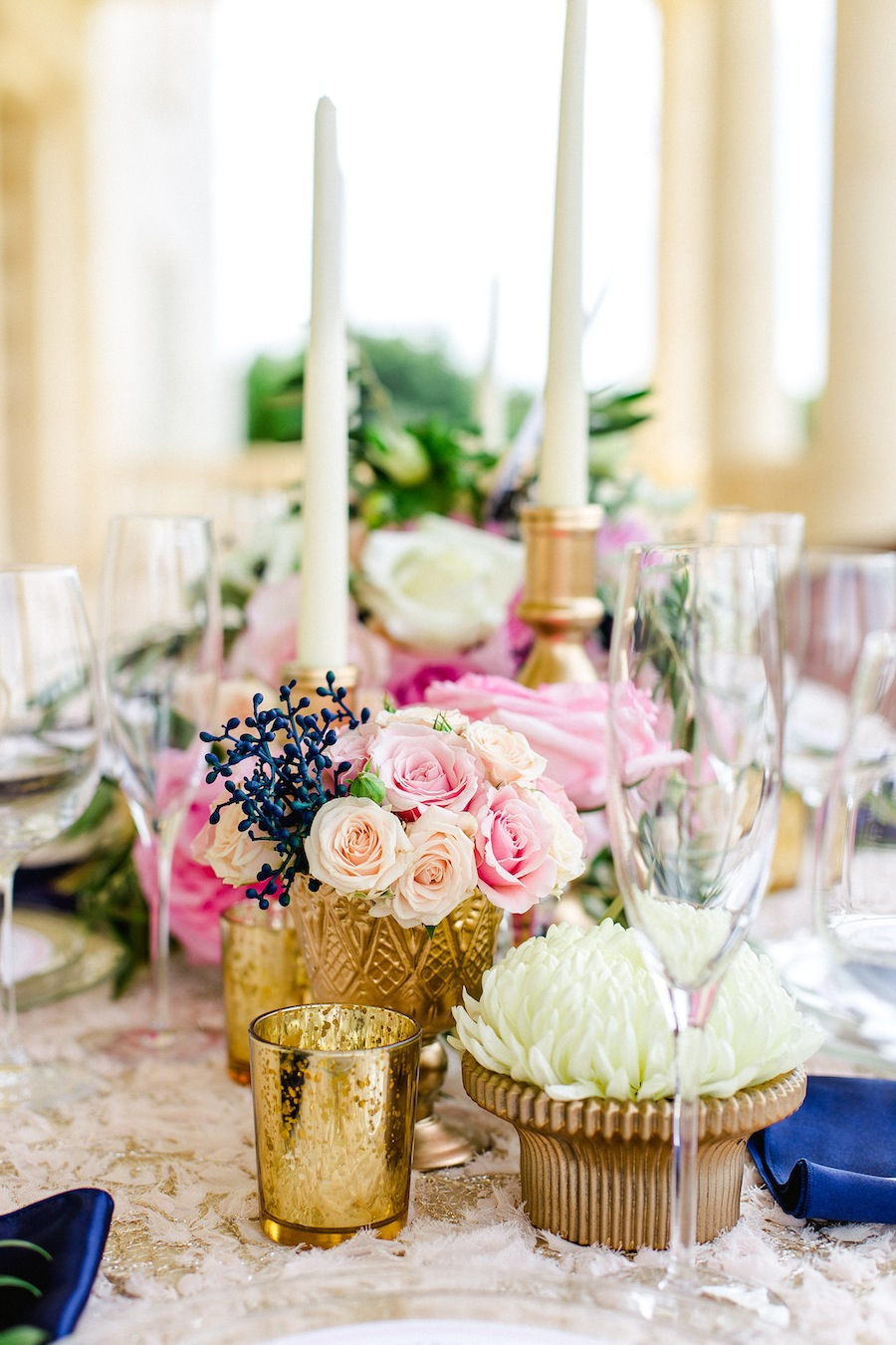 Pink Pastel Wedding Centerpieces | Tampa Bay Wedding Planner Oh So Classy Events