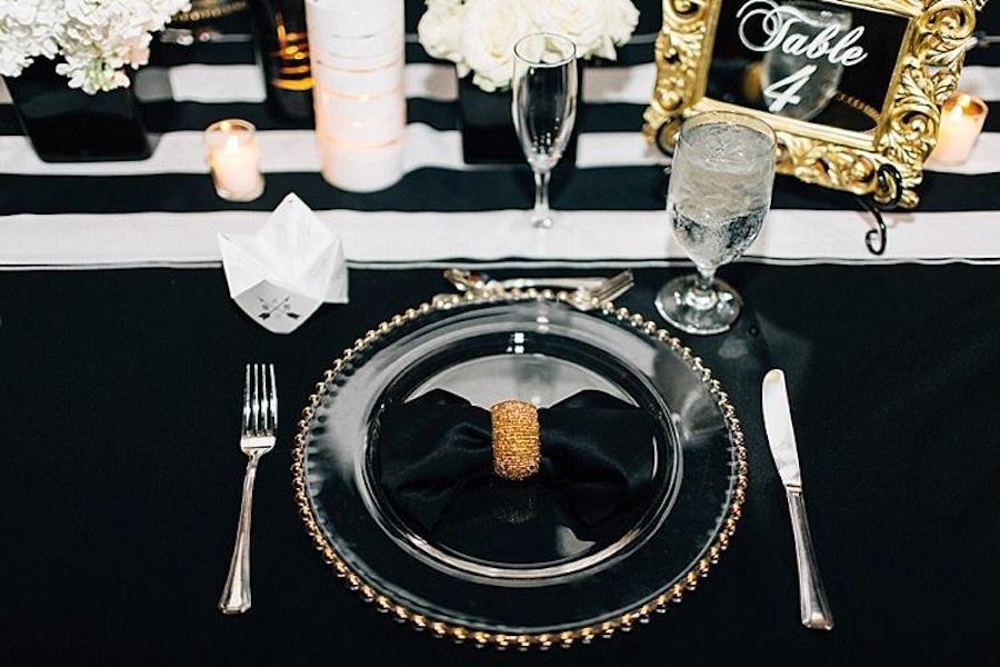Wedding Beaded Glass Charger Rental | Tampa Wedding Rentals A Chair Affar