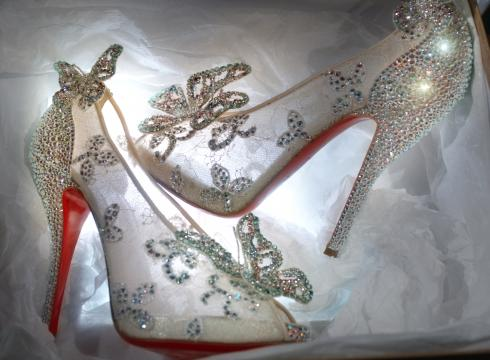 Christian Louboutin Princess Bride Cinderella Glass Slipper Giveway
