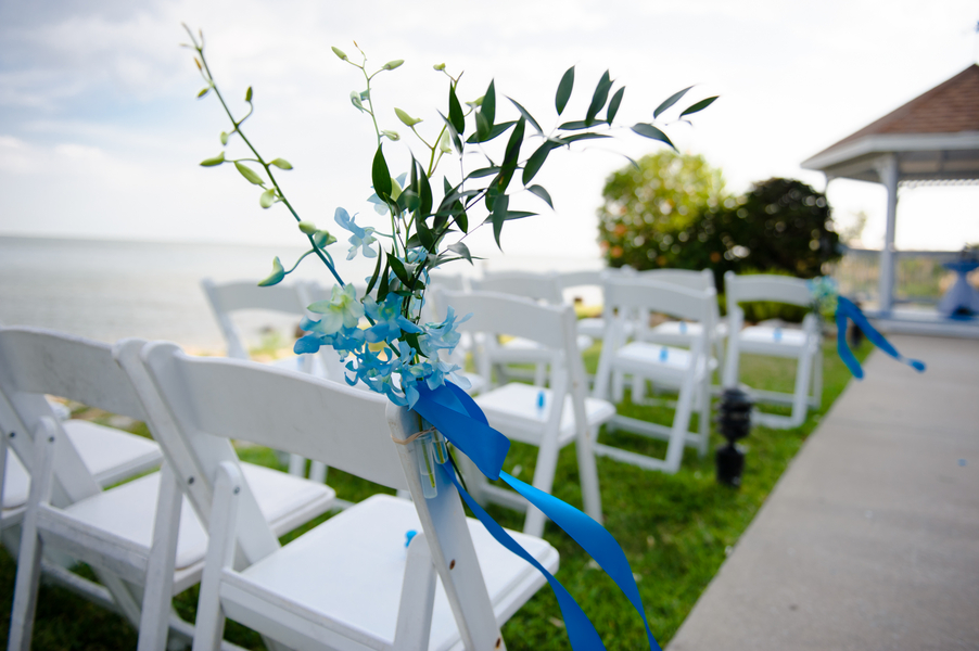 Blue Beach-Themed Rusty Pelican Wedding (12)