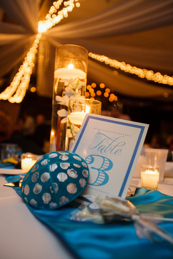 Blue Beach-Themed Rusty Pelican Wedding (22)