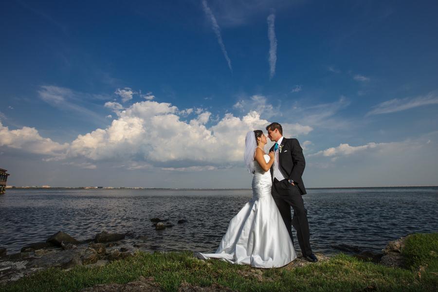 Blue Beach-Themed Rusty Pelican Wedding (29)