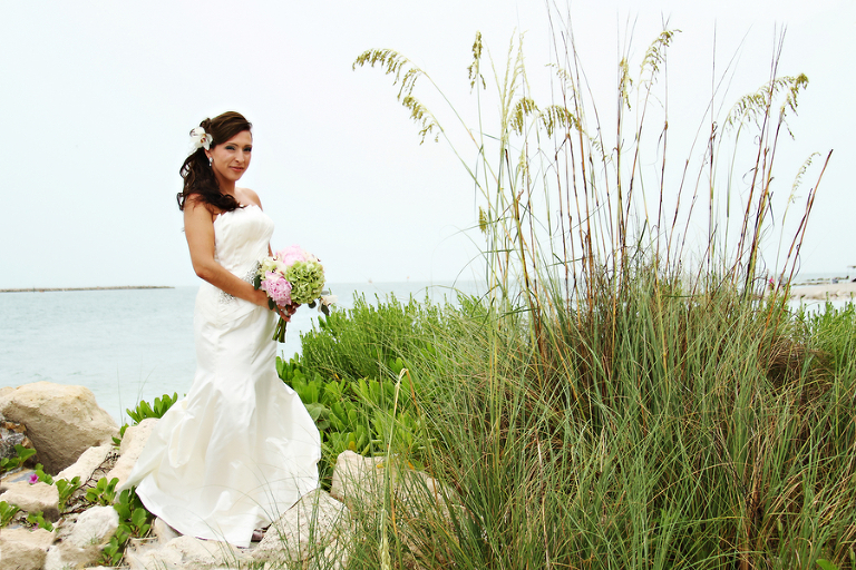 Green and Pink Clearwater Sand Key Park Wedding (5)