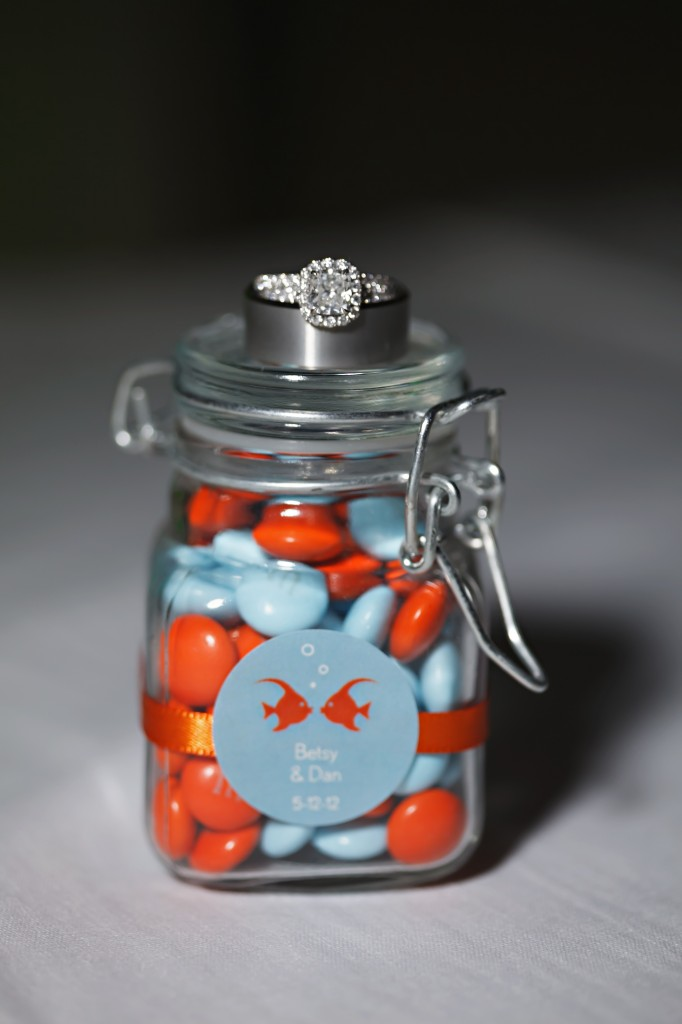 Goldfish Themed Wedding at the Renaissance Vinoy - Carrie Wildes Photography (8)