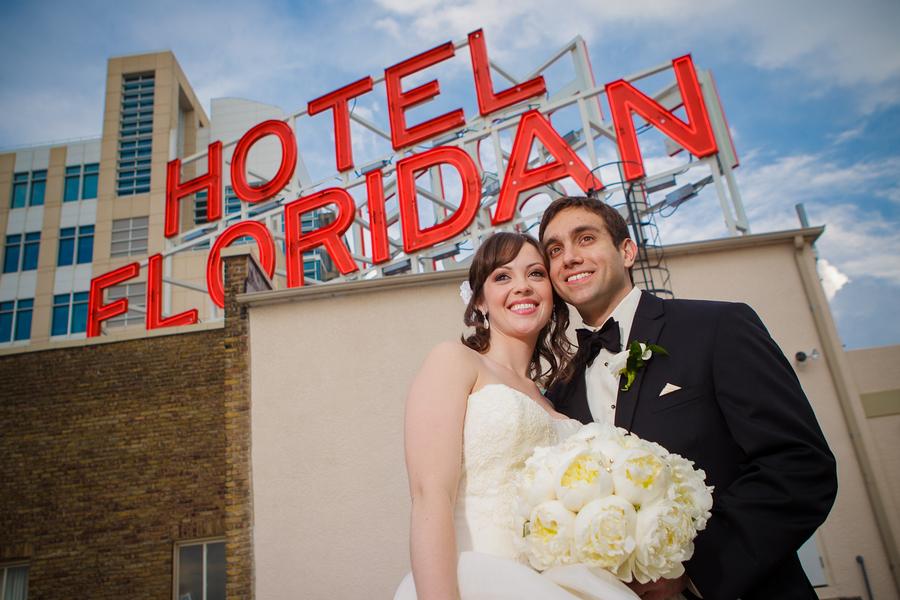 Elegant Gold and Ivory Tampa Floridan Hotel Wedding - Tampa Wedding Flowers Northside Florist (38)