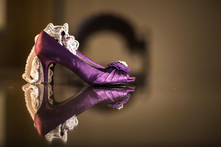 DIY Purple & Lime Green Mirror Lake Lyceum St. Petersburg Wedding - Special Moments (7)