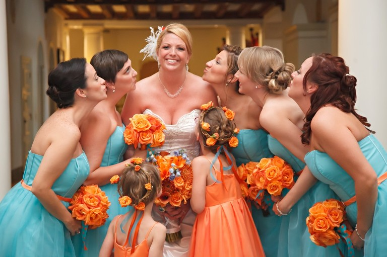 Goldfish Themed Wedding at the Renaissance Vinoy - Carrie Wildes Photography (33)