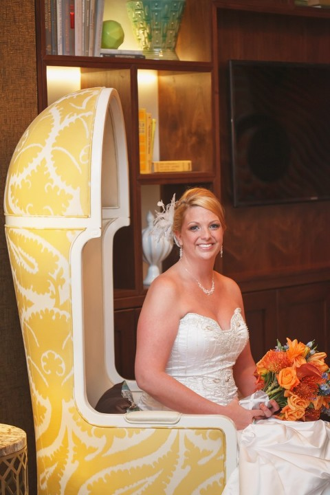Goldfish Themed Wedding at the Renaissance Vinoy - Carrie Wildes Photography (32)