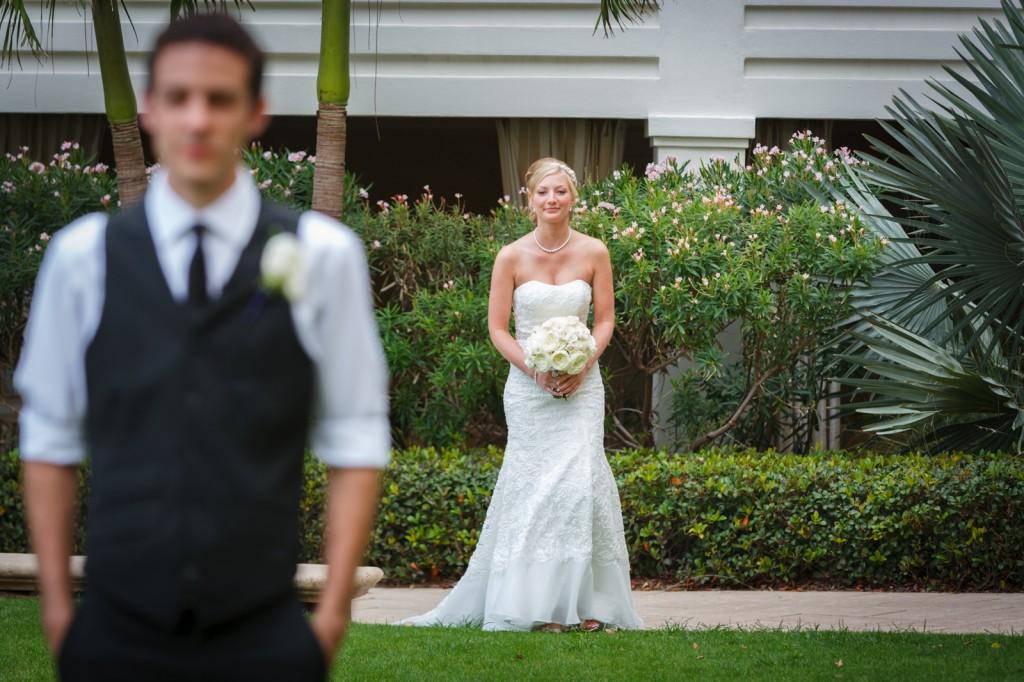 Mediterranean & Navy Clearwater Beach Destination Wedding - Sandpearl Resort by Clearwater Beach Wedding Photographer Aaron Lockwood Photography (10)