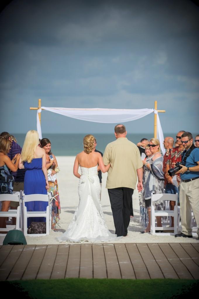 Mediterranean & Navy Clearwater Beach Destination Wedding - Sandpearl Resort by Clearwater Beach Wedding Photographer Aaron Lockwood Photography (14)