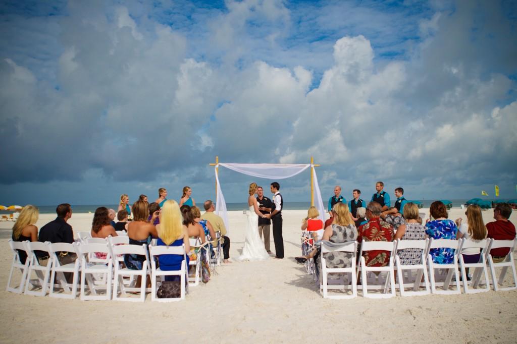 Mediterranean & Navy Clearwater Beach Destination Wedding - Sandpearl Resort by Clearwater Beach Wedding Photographer Aaron Lockwood Photography (16)