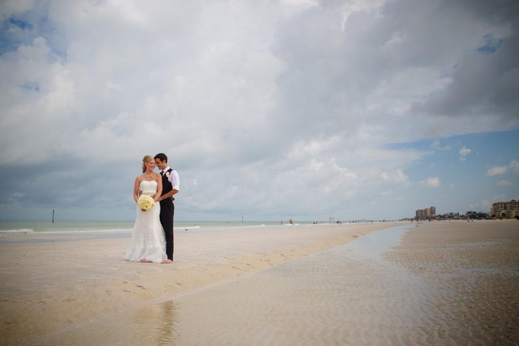 Mediterranean & Navy Clearwater Beach Destination Wedding - Sandpearl Resort by Clearwater Beach Wedding Photographer Aaron Lockwood Photography (17)