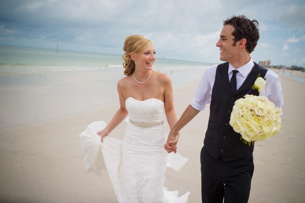Mediterranean & Navy Clearwater Beach Destination Wedding - Sandpearl Resort by Clearwater Beach Wedding Photographer Aaron Lockwood Photography (18)