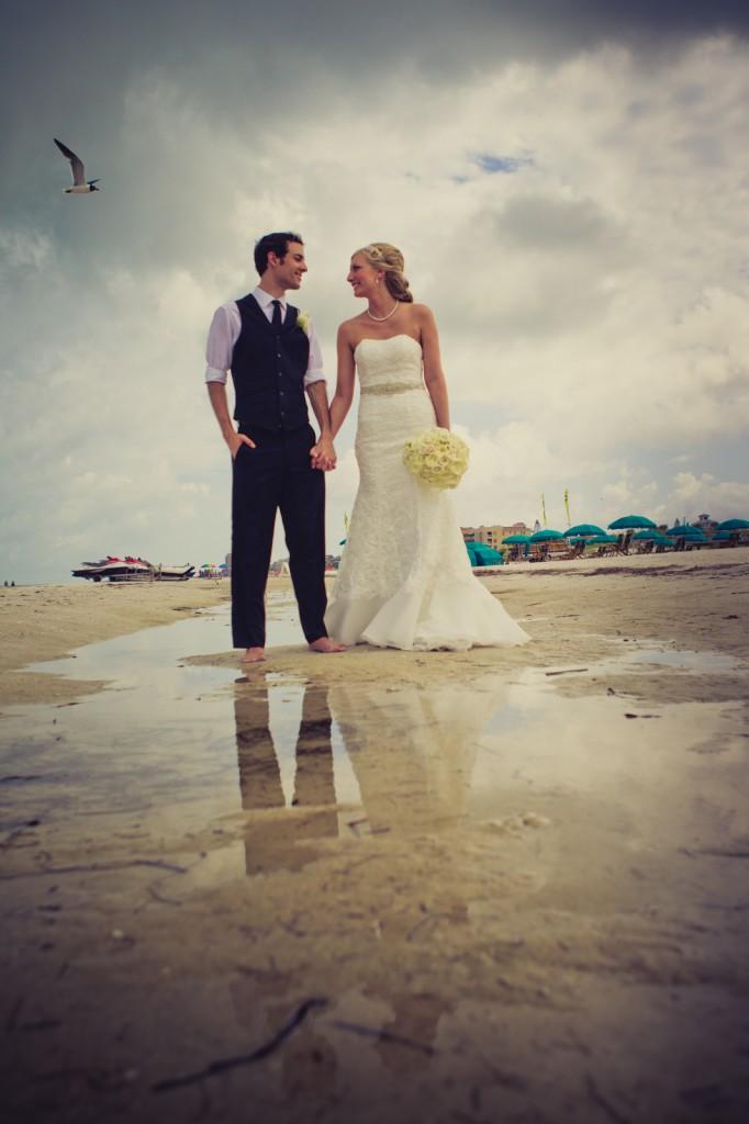 Mediterranean & Navy Clearwater Beach Destination Wedding - Sandpearl Resort by Clearwater Beach Wedding Photographer Aaron Lockwood Photography (20)