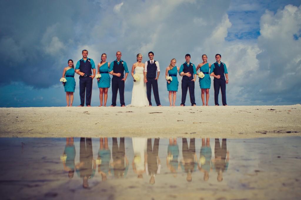 Mediterranean & Navy Clearwater Beach Destination Wedding - Sandpearl Resort by Clearwater Beach Wedding Photographer Aaron Lockwood Photography (21)