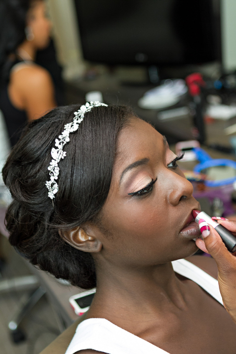 Fuchsia and Champagne Modern Nigerian Tampa Destination Wedding - Tampa Wedding Venue A La Carte Pavilion (19)
