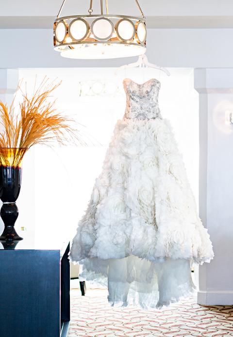 Fuchsia and Champagne Modern Nigerian Tampa Destination Wedding - Tampa Wedding Venue A La Carte Pavilion (18)