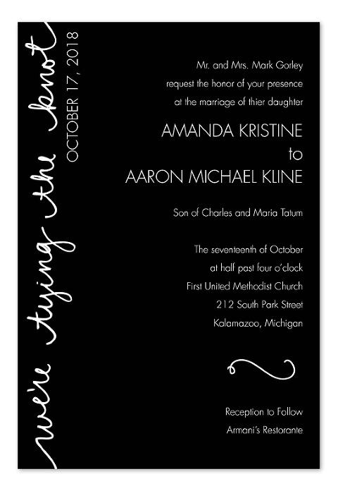 Modern Wedding Invitation - InvitationConsultants.com