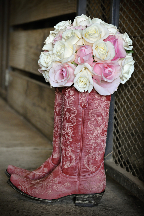Silver and Pink Country Dade City Wedding - Barrington Hill Farm - CV Fuller Photography (5)