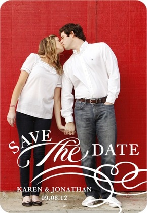 Save the Date Wedding Magnets (6)