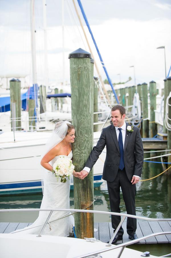 Navy Blue Nautical-Themed Sarasota Yacht Club Wedding - Andi Diamond Photography (18)