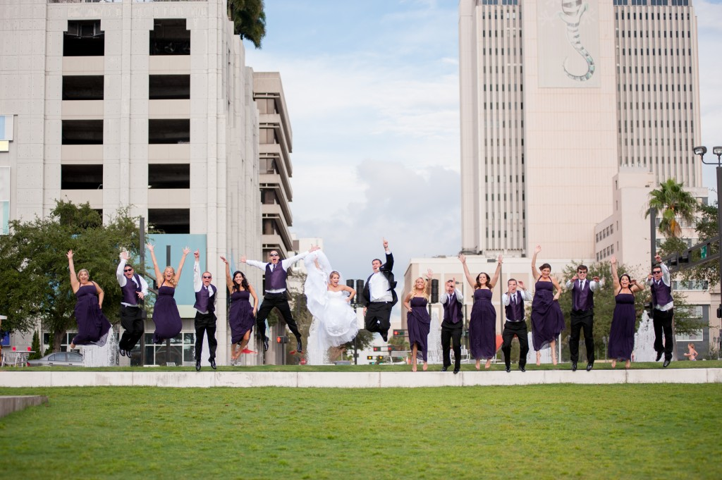 Purple & Silver Downtown Tampa Wedding - University Club of Tampa - Tampa wedding Photographer Life's Highlights (21)