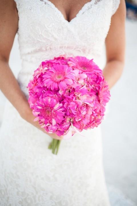 Fuchsia & Blue Destination St. Pete Beach Wedding - Paradise Grille - alt Photography (5)