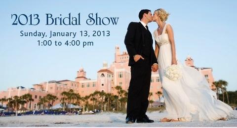 Don Cesar Bridal Show - Sunday, January 13, 2013