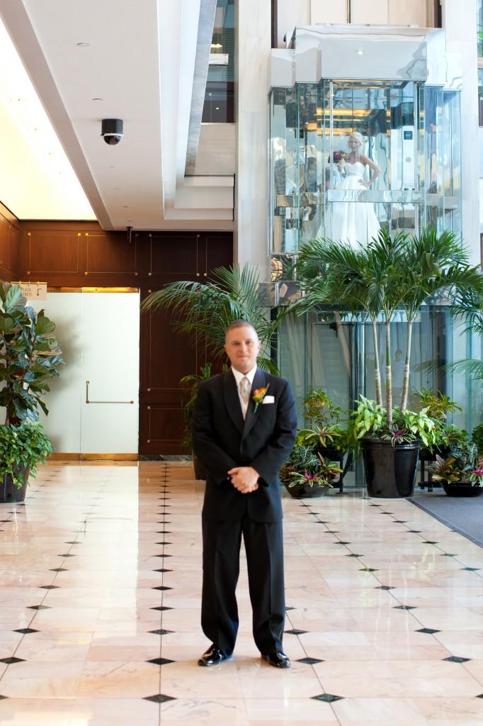 Gold & Garnet Downtown Tampa Wedding - The Tampa Club - Jerdan Photography (10)