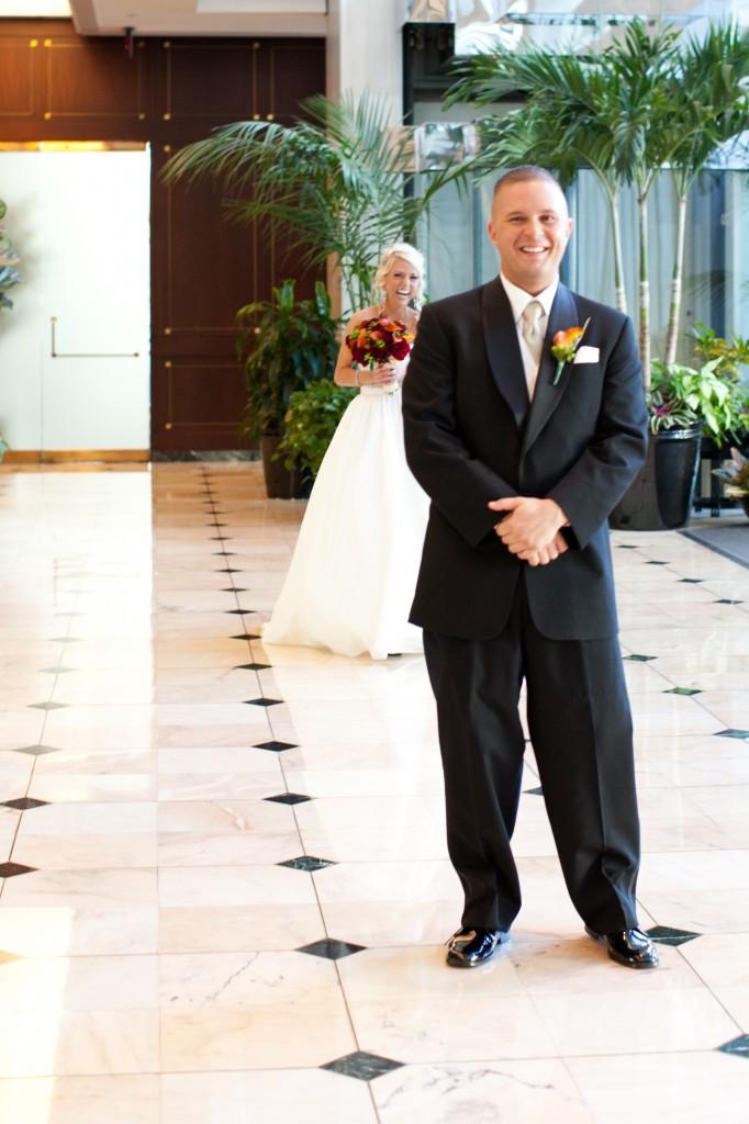 Gold & Garnet Downtown Tampa Wedding - The Tampa Club - Jerdan Photography (11)