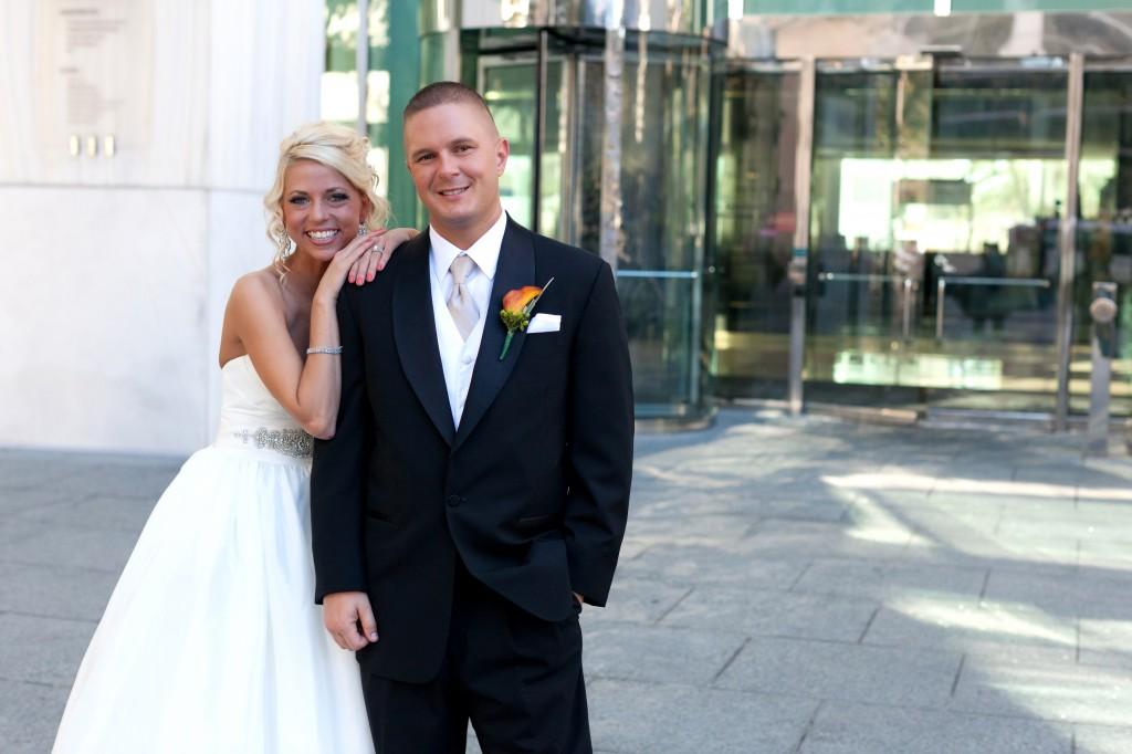 Gold & Garnet Downtown Tampa Wedding - The Tampa Club - Jerdan Photography (13)