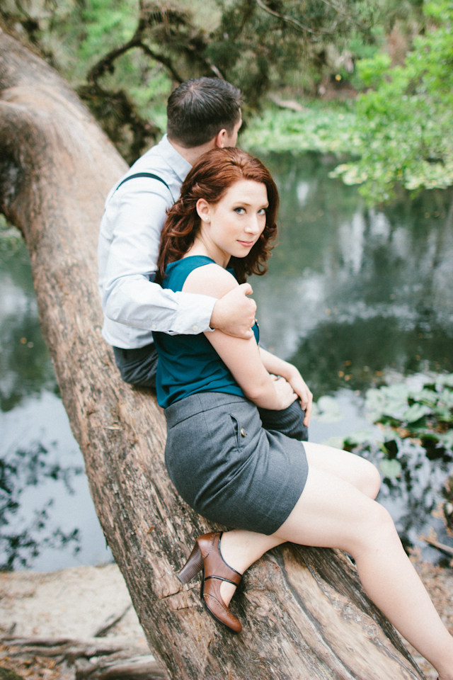 Vintage Rustic Hillsborough State Park Engagement Session - Tampa Wedding Photographer Sophan Theam Photography (15)