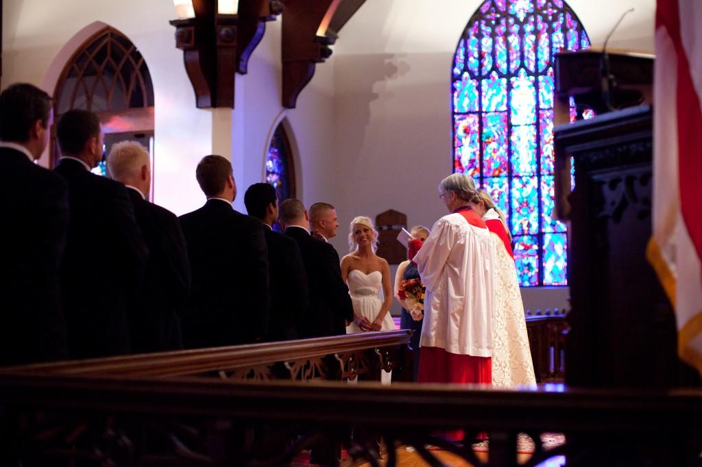 Gold & Garnet Downtown Tampa Wedding - The Tampa Club - Jerdan Photography (21)