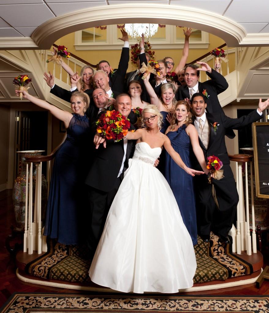 Gold & Garnet Downtown Tampa Wedding - The Tampa Club - Jerdan Photography (29)