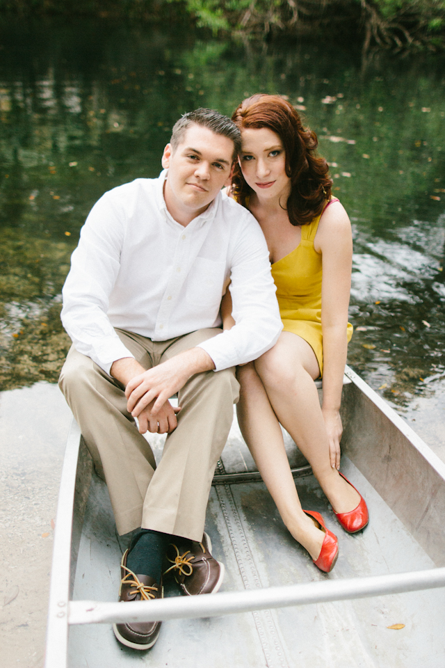 Vintage Rustic Hillsborough State Park Engagement Session - Tampa Wedding Photographer Sophan Theam Photography (3)