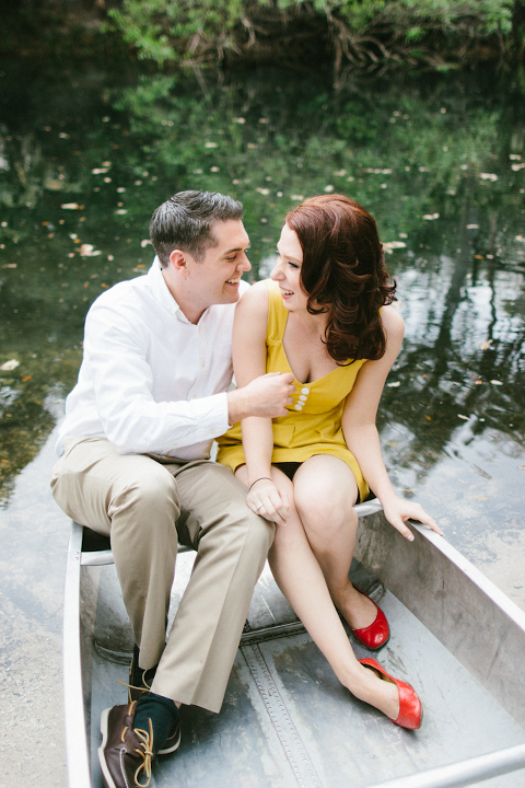 Vintage Rustic Hillsborough State Park Engagement Session - Tampa Wedding Photographer Sophan Theam Photography (4)