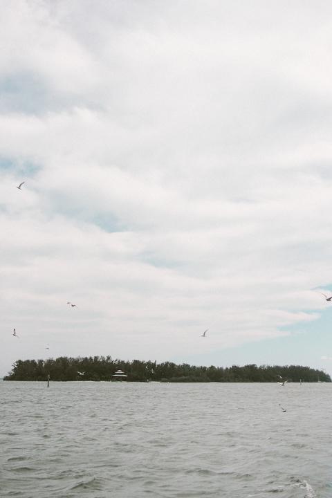 Blush, Grey & White Modern Destination Longboat Key Wedding - Sophan Theam Photography (3)