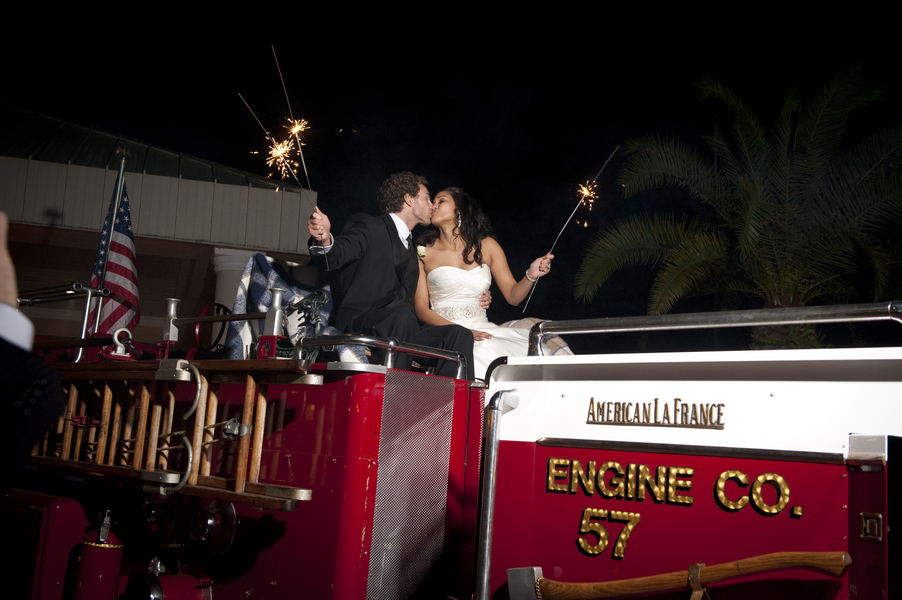 Purple, Silver & Black Tampa Firefighter Wedding - Tampa Wedding Photographer - Legacy Seven Studios (2)