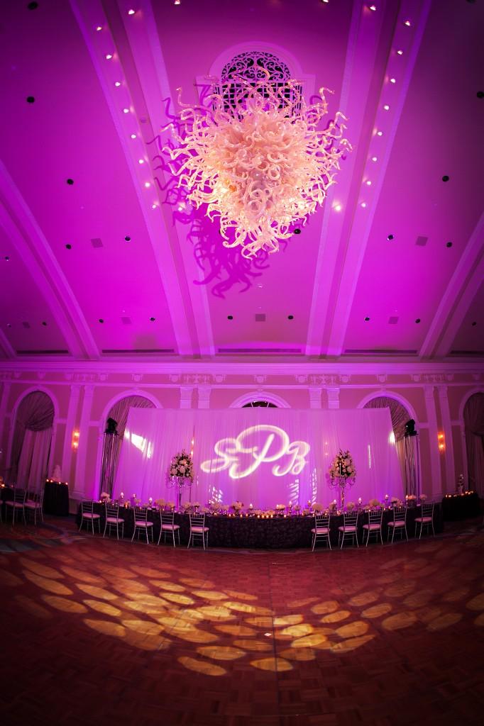 Purple Elegant Winter Wonderland St. Petersburg, Fl Wedding - Renaissance Vinoy - Limelight Photography (19)