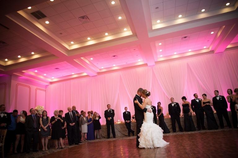 Elegant Black and White Downtown Tampa Wedding - Floridan Palace (41)