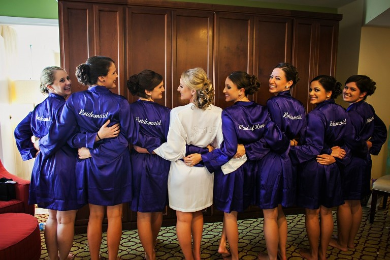 Purple Elegant Winter Wonderland St. Petersburg, Fl Wedding - Renaissance Vinoy - Limelight Photography (5)
