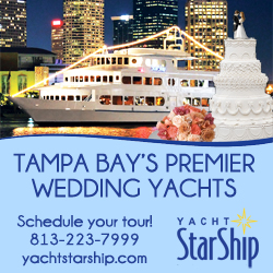 Downtown Tampa Wedding Venue Yacht StarShip