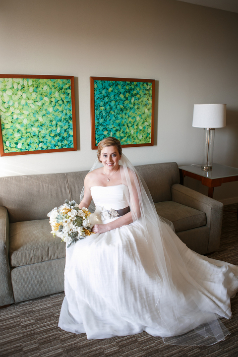Modern Yellow & Grey Waterfront Tampa Wedding - Carrie Wildes Photography (27)