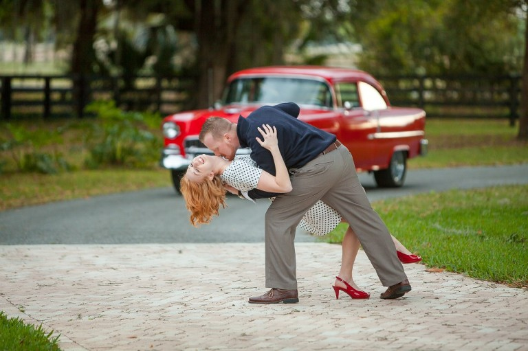 Vintage and Carnival Themed Plant City, FL Strawberry Festival Engagement Shoot - Jeff Mason Photography (5)