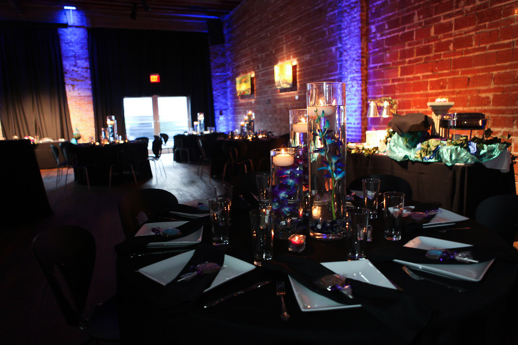 Purple, Teal and Royal Blue Peacock - Themed St. Petersburg Wedding - NOVA 535 Unique Event Space - VRvision Photography (13)
