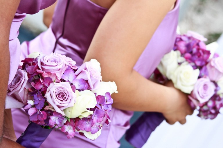 Purple Waterfront Tampa, Florida Wedding - Tampa Wedding Photographer Photo Announce It! (5)