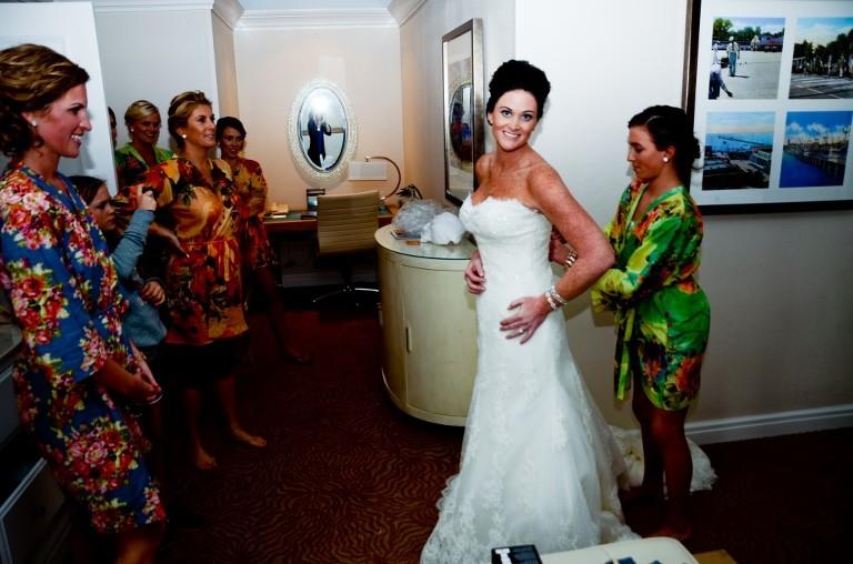 Orange Rustic Waterfront St. Pete, FL Wedding - St. Petersburg Wedding Photographer Caroline Allen Photography (21)
